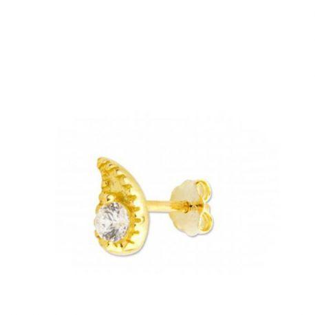 piercings dorados