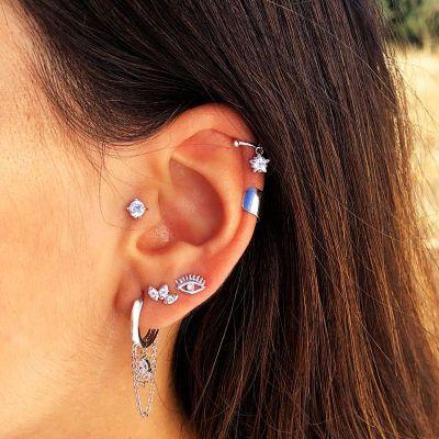piercing oreja mujeres