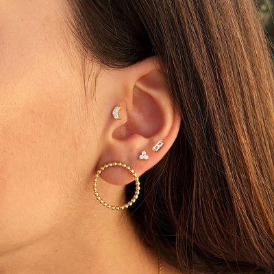 Piercing en las orejas