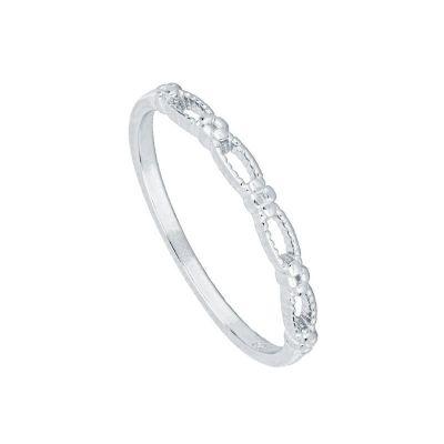 anillos plata mujer
