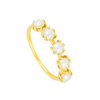 anillo de oro mujer