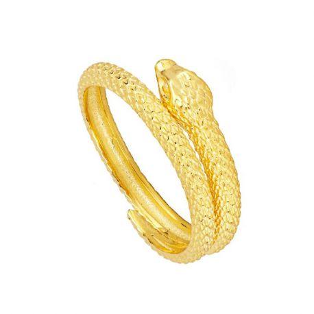 Anillo Serpiente Oro