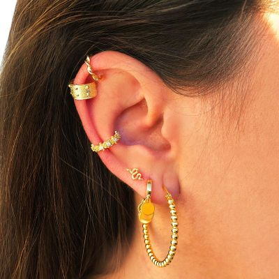 Ear Cuff Suelto April Gold