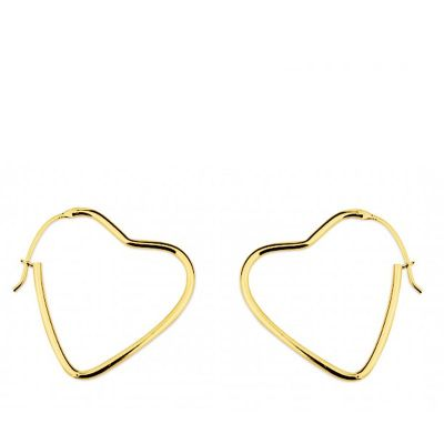 aros de mujer en oro amarillo 18 dilates