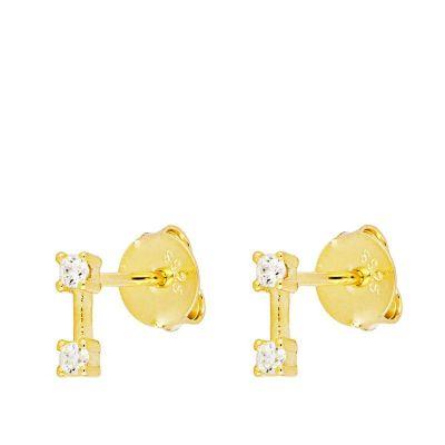 pendientes de oro con piedras