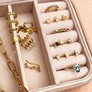 piercing dorado