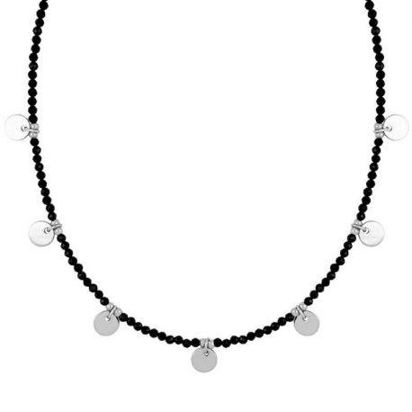 collar con piedras espinelas plata