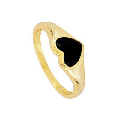 sello de oro para mujer