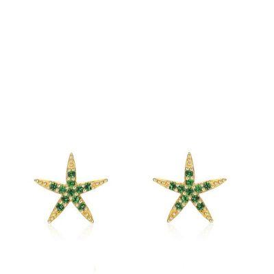 pendientes estrella de mar plata