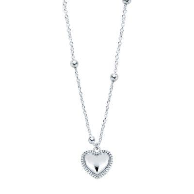 Collar Heart Bolitas