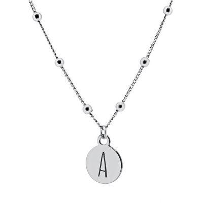 collares personalizados plata