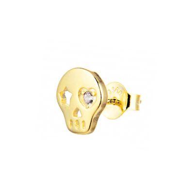 Pendiente Suelto Catrina Gold